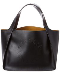 Stella McCartney Logo Tote - Black