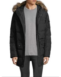 Pajar - Quilted Fur Hood Parka - Lyst