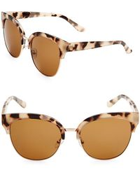 Fantaseyes - 58mm Clubmaster Sunglasses - Lyst