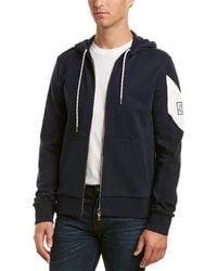 Moncler Maglia Hooded Jacket - Blue