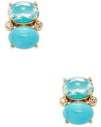 Kate Spade - Drop Stud Earrings - Lyst