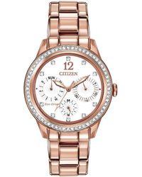 Citizen Women's Stainless Steel Watch - Metallic