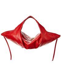 3.1 Phillip Lim - Luna Mini Slouchy Leather Hobo - Lyst