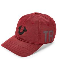 True Religion - Embroidered Logo Baseball Cap - Lyst