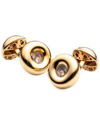 Chopard 18k 0.11 Ct. Tw. Diamond Cufflinks - Metallic