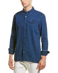 Scotch & Soda Regular Fit Woven Shirt - Blue