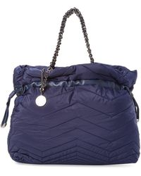 Stuart Weitzman Pucker Large Quilted Tote - Blue