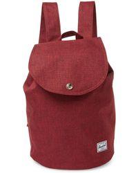 Herschel Supply Co. Reid Solid Backpack - Red