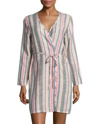 Solid & Striped - Erin Striped Robe - Lyst