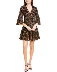 Michael Kors Silk-lined A-line Dress - Black