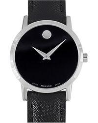 Movado Leather Watch - Multicolour