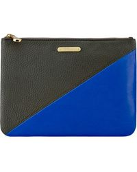 Gigi New York All-in-one Leather Clutch - Multicolor