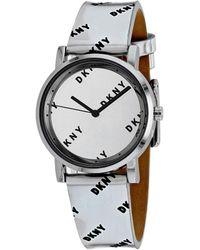 DKNY Women's Soho Watch - Metallic