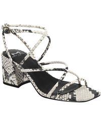 Marc Fisher Nakitia Barely There Sandal - Metallic