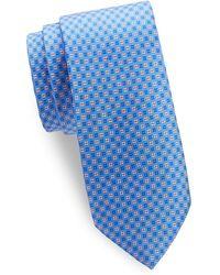 Saks Fifth Avenue - Silk Floral Medallion Tie - Lyst