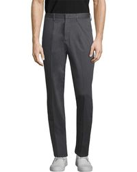 Ermenegildo Zegna Z Straight Leg Trouser - Grey
