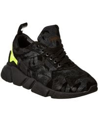 Jared Lang - Suede & Haircalf Trainer - Lyst
