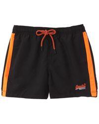 Superdry Beach Volley Swim Short - Black