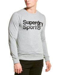 Superdry Core Sport Sweatshirt - Grey