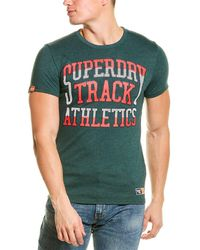 Superdry Track & Field T-shirt - Green