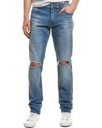 Hudson Jeans Sartor Blue Relaxed Skinny Jean