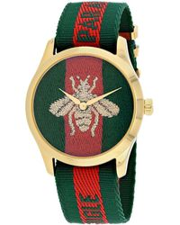 Gucci Men's G-timeless Watch - Green