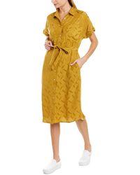 Knot Sisters Vaeda Shirtdress - Yellow