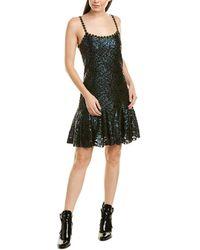 Anna Sui Sea Sparkle Slip Dress - Black