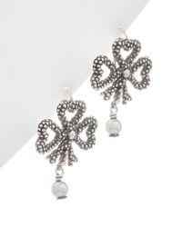 Gucci Silver Earrings - Metallic