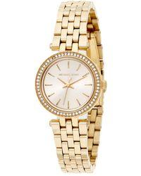Michael Kors Women's Mini Darci Watch - Metallic