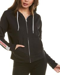 Reebok Linear Logo Full-zip Sweatshirt - Black