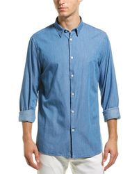 J.Lindeberg J.lindeberg Daniel Woven Shirt - Blue