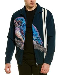 Valentino Wool-blend Jacket - Blue