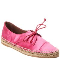 Tabitha Simmons Dolly Silk Trainer - Pink
