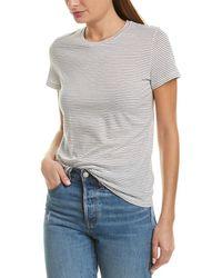 Vince Skinny Stripe T-shirt - Black