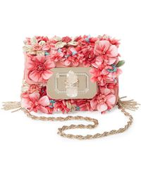 Marchesa - Phoebe Mini Floral Embellished Shoulder Bag - Lyst