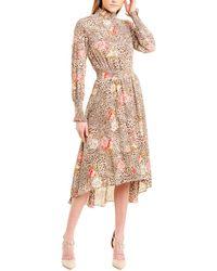 Nanette Lepore Nanette By Nanette Lepore Midi Dress - Multicolour