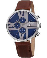 August Steiner Women's Urbane Watch - Blue