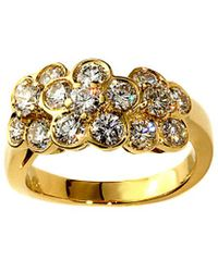 Van Cleef & Arpels Vintage - Van Cleef & 18k 1.00 Ct. Tw. Diamond Ring - Lyst