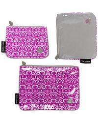 "Melissa Beth ""trio"" 3pc Cosmetic Case Set - Multicolour"