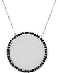 Gabi Rielle - Silver Cz Necklace - Lyst