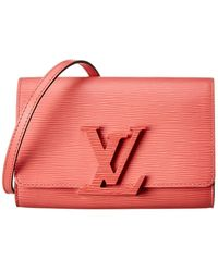 Louis Vuitton Pink Epi Leather Louise Pm