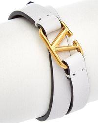 Valentino Garavani Leather Bracelet - Multicolour