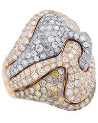 Diana M. Jewels - . Fine Jewelry 18k 6.06 Ct. Tw. Diamond Ring - Lyst