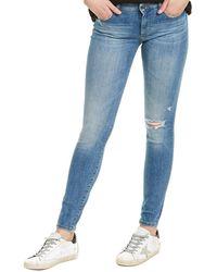 DL1961 Premium Denim Emma Mogadore Low-rise Instasculpt Skinny Leg Jean - Blue