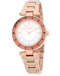 Versus - Logo Stainless Steel Bracelet Watch - Lyst