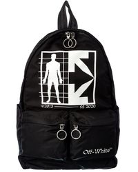 Off-White c/o Virgil Abloh Off-white? Half Arrow Man Backpack - Black
