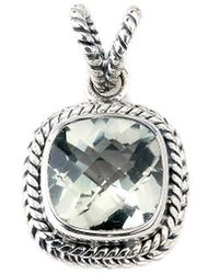 Samuel B. Silver 3.50 Ct. Amethyst Enhancer - Metallic