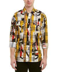 Burberry - Vintage Check Print Woven Shirt - Lyst