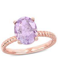 Rina Limor 14k Rose Gold 2.37 Ct. Tw. Rose De France Ring - Pink